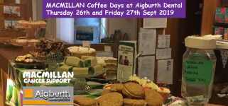 We are hosting a Macmillan coffee morning event this Thursday 26th & Friday 27th September