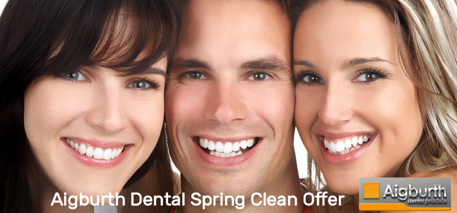 Aigburth Dental spring clean offer Teeth Whitening, Hygienist Visit and Philips electric toothbrush